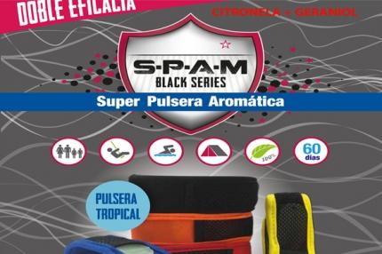 Pulsera spam tropical velcro + 3 recambios